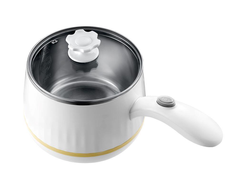 奇美MINI美食調理鍋鍋蓋排氣孔設計,讓高溫蒸氣能迅速排出,降低鍋內蒸氣壓力,防止壓力過高的危險(EP-02MC20).jpg