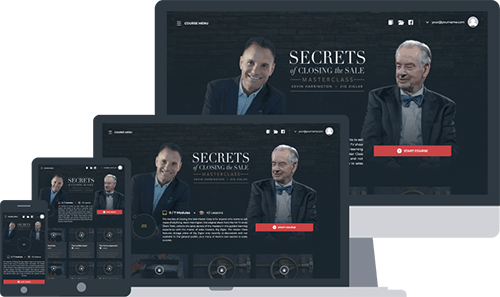Secrets Of Closing The Sale Master Class