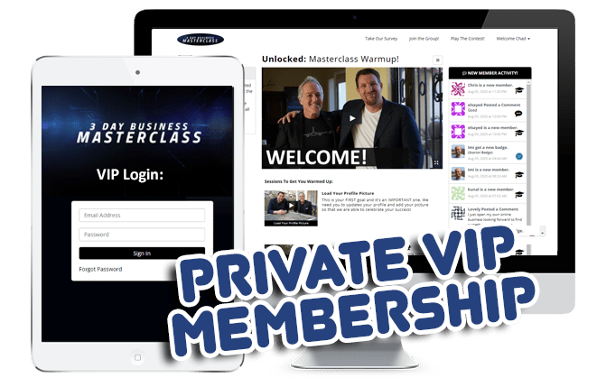 private vip membership