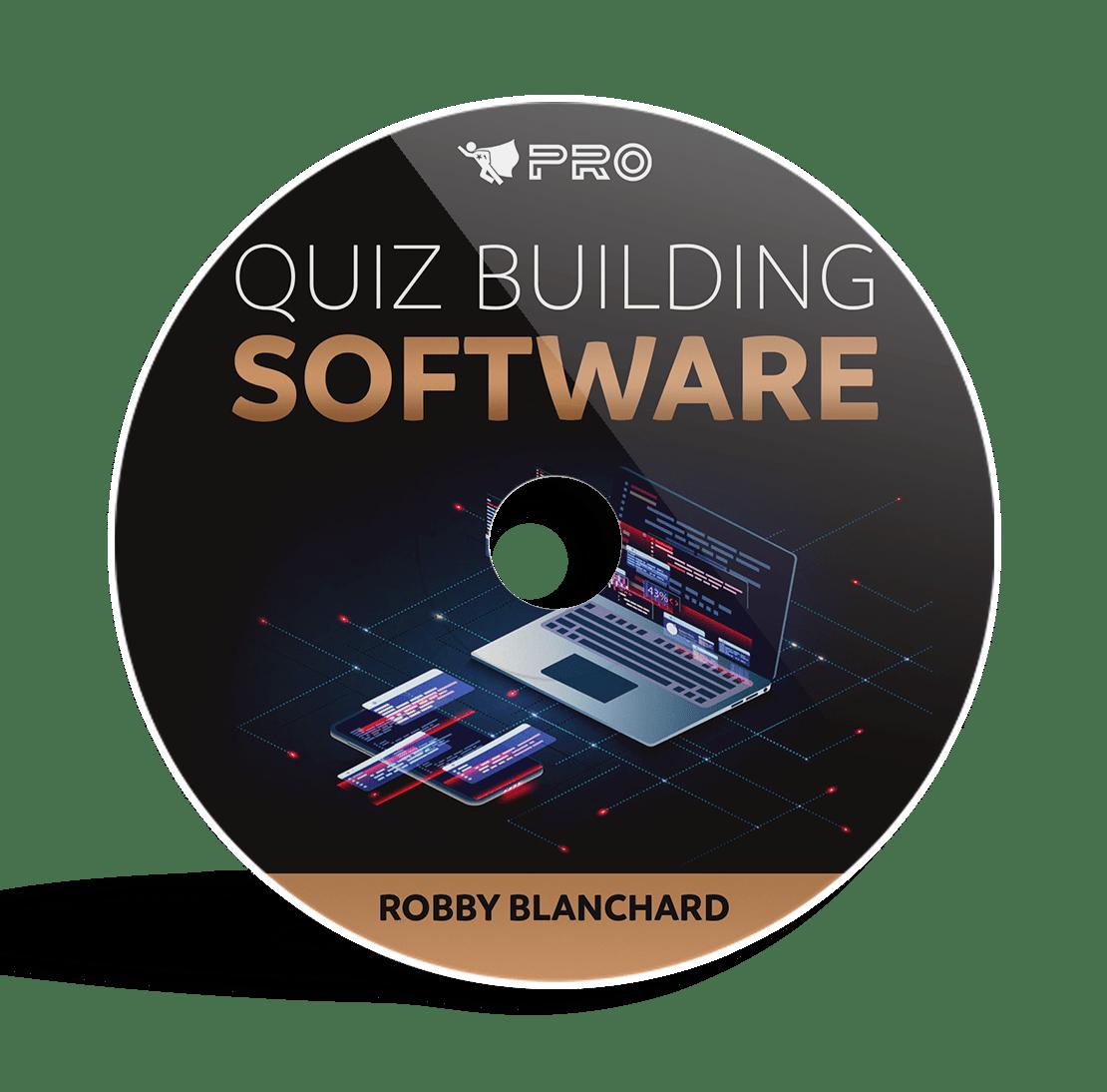 quiz building software