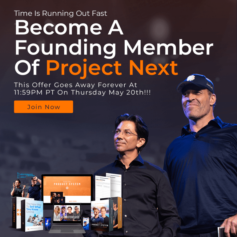 Project Next Founding Member Offer