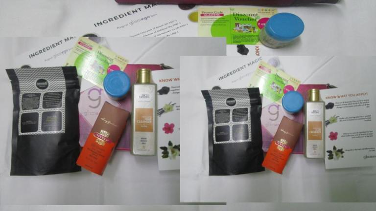 Glamego August Box – The No. 1 Beauty Subscription Box in India