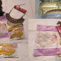 MOND'SUB India - Collagen Facial Mask & Gold Eye Mask Review