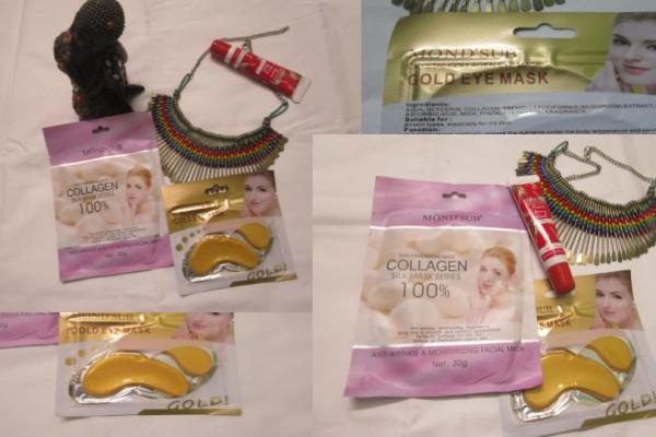 MOND'SUB India – Collagen Facial Mask & Gold Eye Mask Review