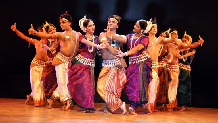 A to Z Blogging 2018 - Odissi Dance