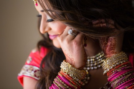 Diamond ring for wedding