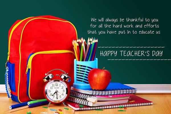 The Teachers of My Life – Happy Teacher's Day