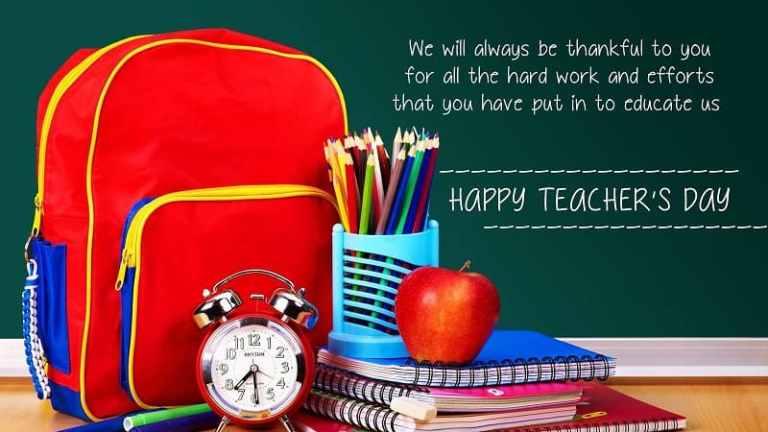 The Teachers of My Life – Happy Teacher's Day