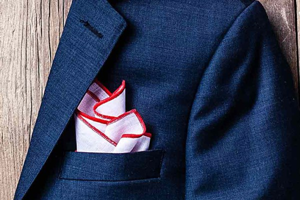 Redefine your ensemble with a pocket square