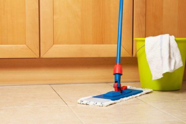طرق تنظيف سيراميك المنزل