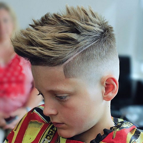 The Latest Children S Haircuts For Boys Saudi 24 News