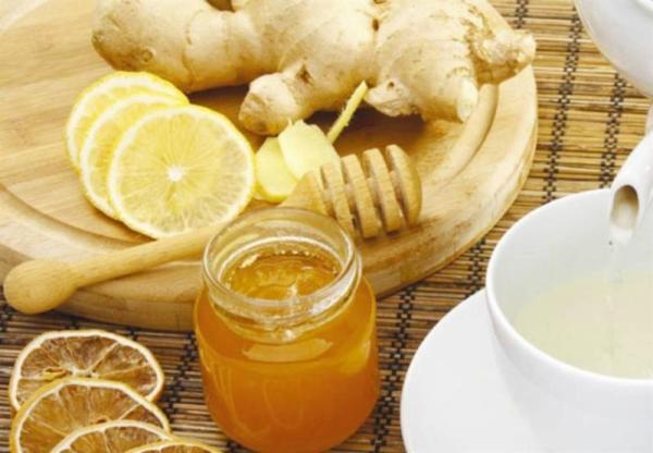 خلطة العسل والزنجبيل
