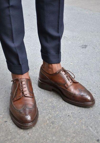 حذاء مريح وأنيق لإطلالة سيمي فورمال تناسب الرجل العملي