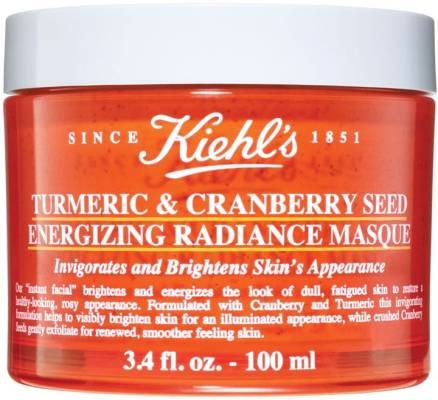 Kiehl's Turmeric Cranberry Seed Energizing Radiance Mask