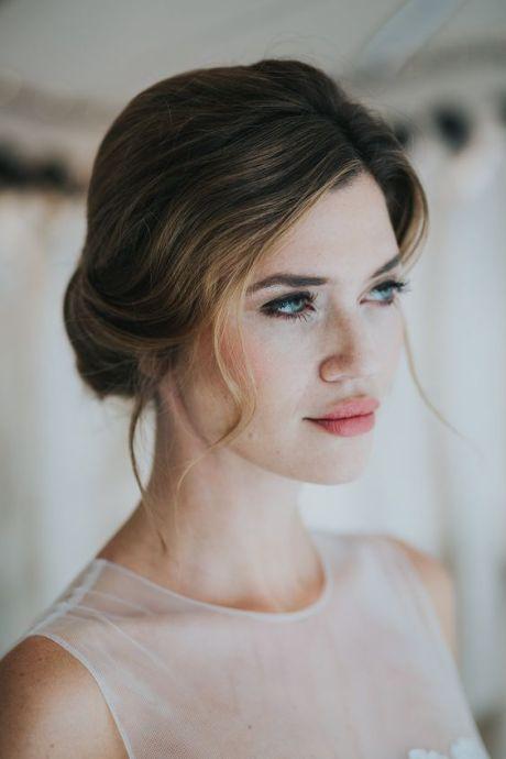 لفة شعر عروس منخفضة
