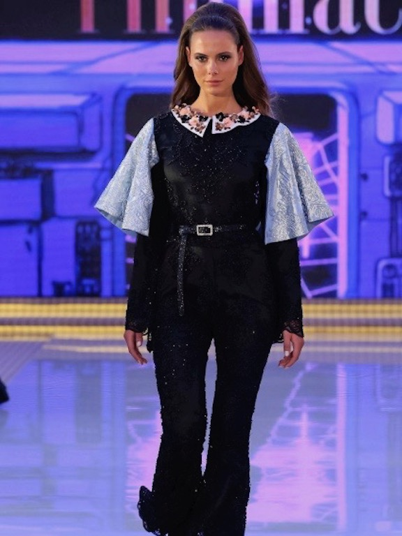 عرض فولمي في أسبوع الموضة العربي