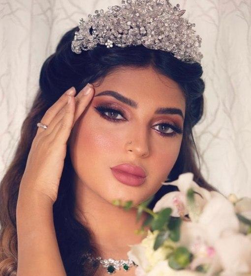 مكياج سموكي عربي لامع