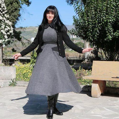 صفاء سلطان من كواليس المسلسل