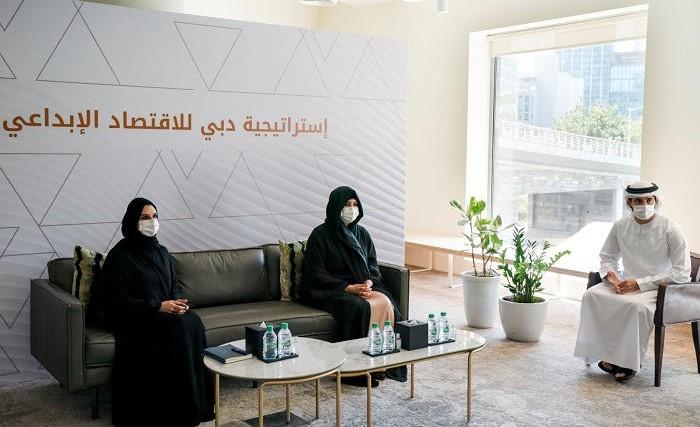 خلال إطلاق استراتيجية دبي للاقتصاد الإبداعي