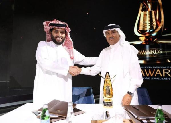 تركي آل الشيخ ومحمد عبده