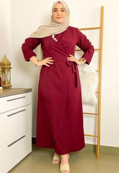 4 سوزان السعدي بفستان يومي - صورة من حسابها على انستجرام
