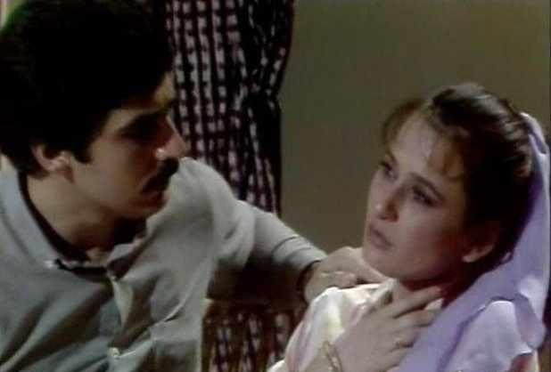 "Sabah Al-Salem in the series ""The Doctor"" with Abbas Al-Nouri"