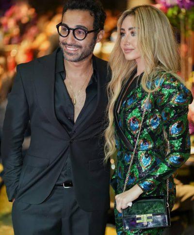 هنا وزوجها أحمد فهمي