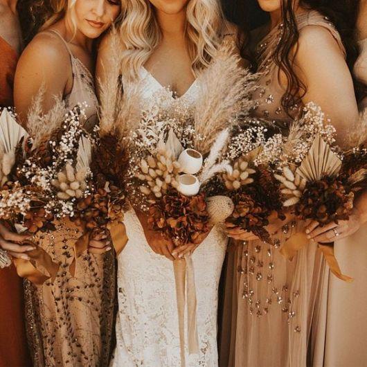 باقة ورد العروس والوصيفات