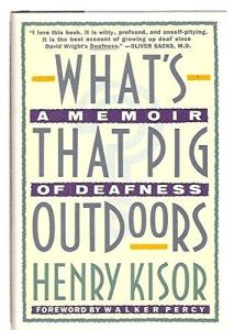 book cover of What's That Pig Outdoors?