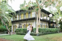 {Irina and Eric} – Key West wedding planner- Hemingway House reception
