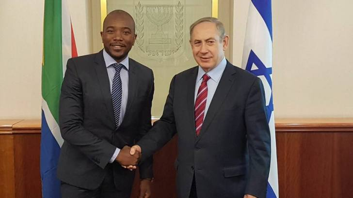 Mr Maimane sees the reality of Israel for himself