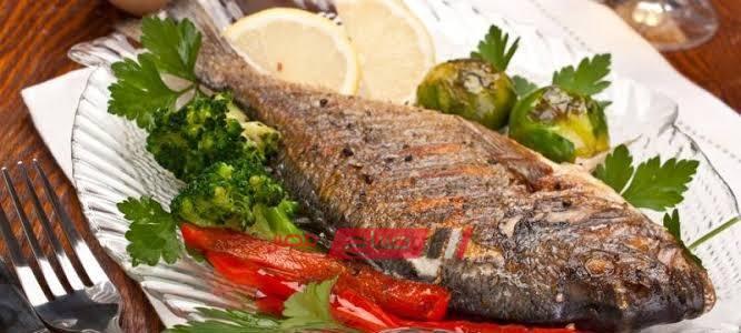 طريقة عمل السمك المشوي بالأعشاب للرجيم موقع صباح مصر