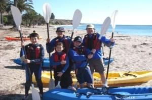Refugio State Beach Kayakers