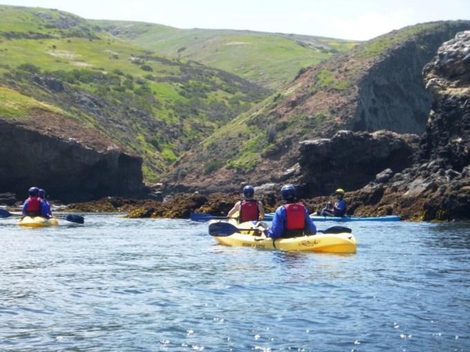 Santa Barbara kayak tours