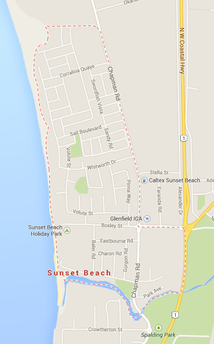 Sunset Beach Precinct. City of Greater Geraldton, Western Australia