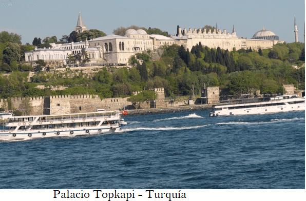 Palacio Topkapi, hogar de los sultanes.