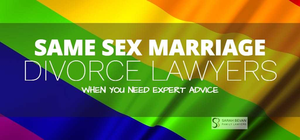 Same-Sex Property Settlement Lawyers Sydney
