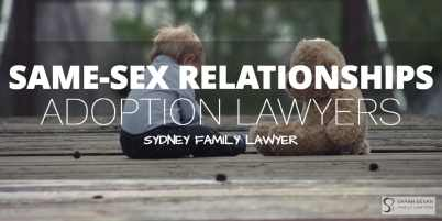 Adoption Lawyers Sydney Same Sex Relationship Sydney