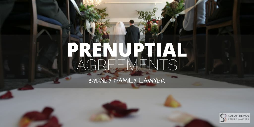 Prenuptial Agreement Family Lawyer Sydney