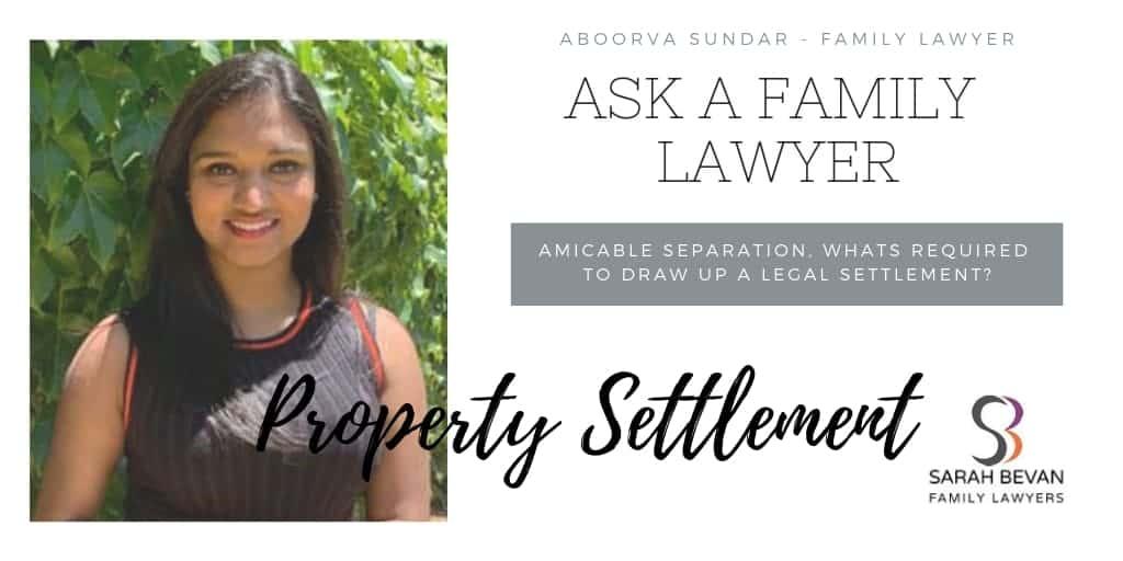 Property Settlement Legal - Family Lawyer Sydney