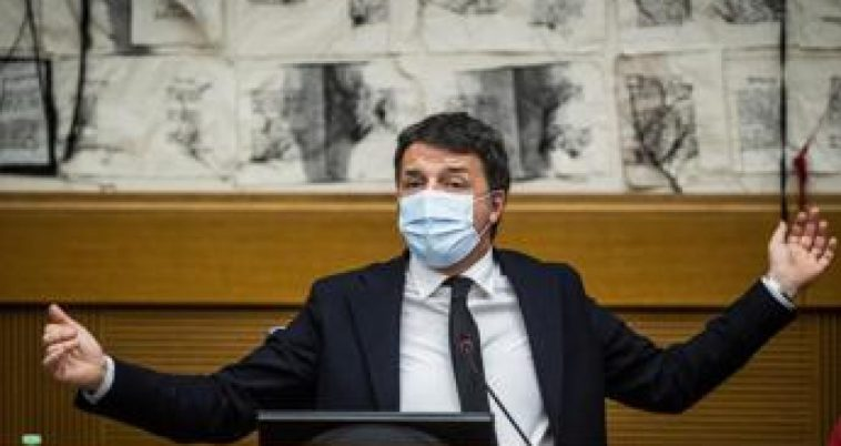 """Ddl Zan, Renzi: """"La sinistra vuole rimandare a settembre"""""""
