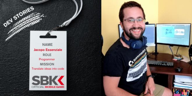 Programmer Jacopo Essenziale's Badge ID