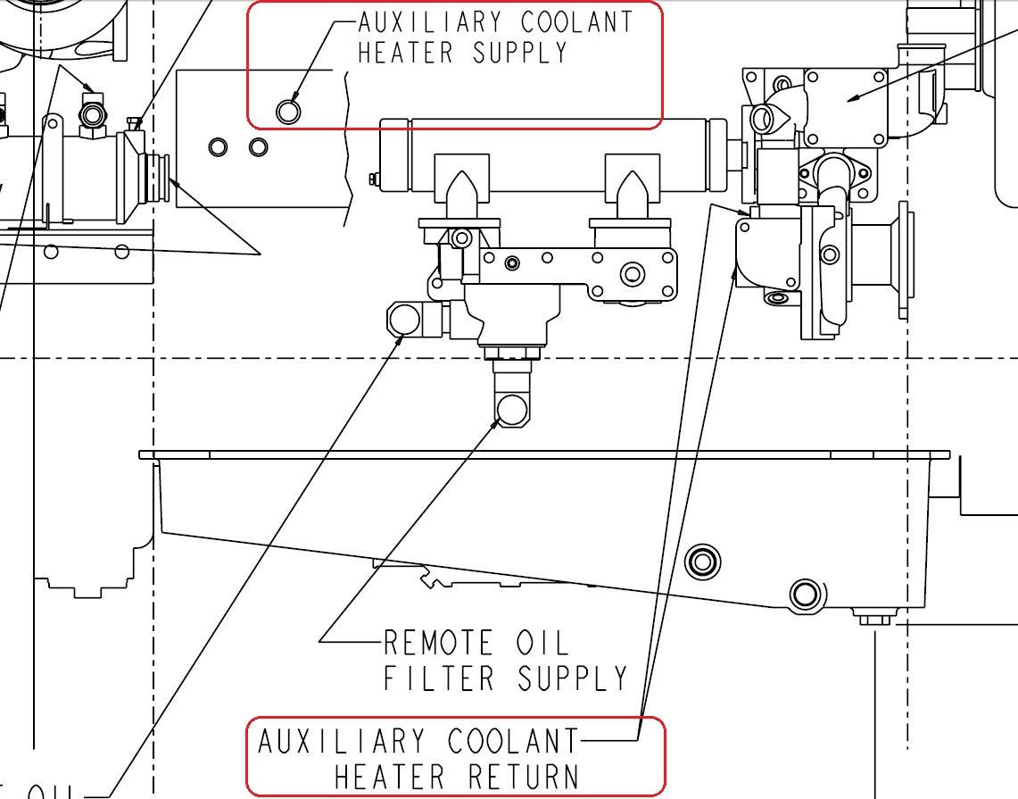 Qsm11 Heater Supply Ports