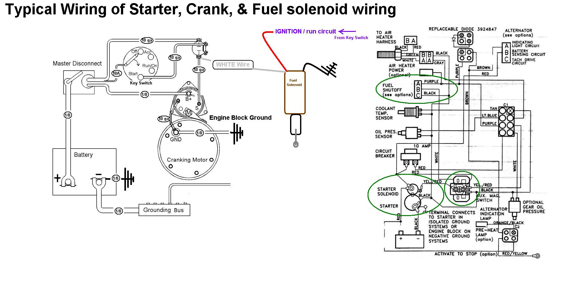 Caterpillar Solenoid Wiring Diagram