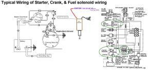 Starter, Crank & Fuel Shutoff Solenoid Wiring  Seaboard