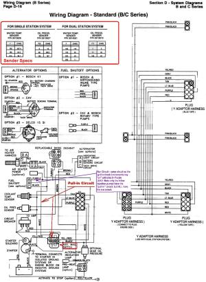 6BTA 59 & 6CTA 83 Mechanical Engine Wiring Diagrams