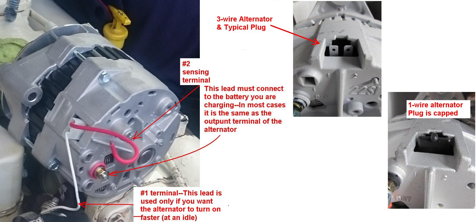 Marine Alternator Wiring Volvo Penta