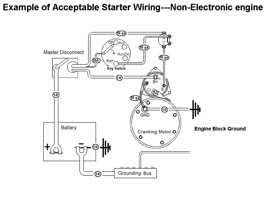 Starter Mag Switch Wiring?resized665%2C507 magnetic starter wiring diagram efcaviation com 350 chevy starter wiring diagram at edmiracle.co
