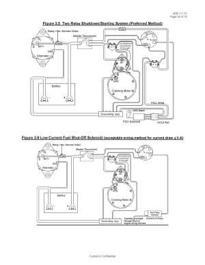 Basic Fuel Shutoff Solenoid and Starter Wiring Information  Seaboard Marine