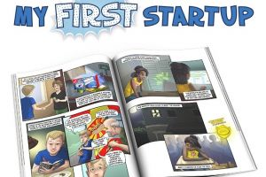 My First Startup Comic Book Aims to Teach Kid Entrepreneurs